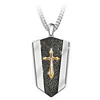 Armor Of God Pendant Necklace