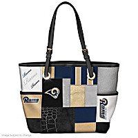 For The Love Of The Game Los Angeles Rams Tote Bag