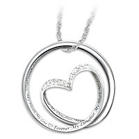 Forever In My Heart Diamond Pendant Necklace
