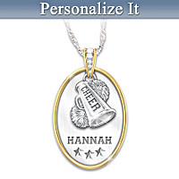 Sports Star Personalized Pendant Necklace