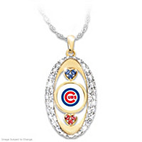 For The Love Of The Game Cubs Pendant Necklace