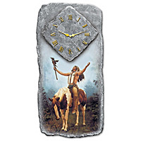 Honoring The Spirits Wall Clock