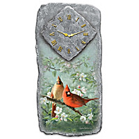 Springtime Song Wall Clock