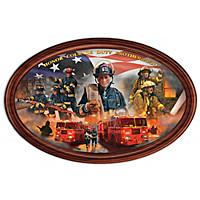Courage Under Fire Collector Plate
