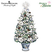 Thomas Kinkade Winter Splendor Table Centerpiece