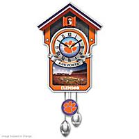 Clemson Tigers Cuckoo Clock