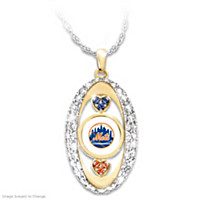 For The Love Of The Game Mets Pendant Necklace