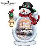 Thomas Kinkade A Snowy Winter Welcome Wall Decor