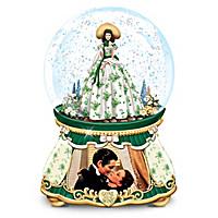 Belle Of The Barbecue Glitter Globe