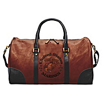 USMC Leather Tote Bag