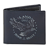 Land Of The Free Men's Wallet