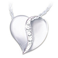 Cherished By Us All Diamond Pendant Necklace