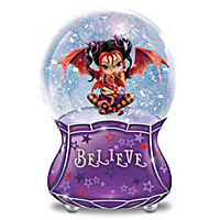 Wings Of Wonder Glitter Globe
