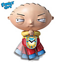 Stewie Motion Wall Clock