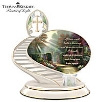Thomas Kinkade Loving Remembrance Candle Holder
