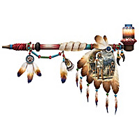 Guardians Of The Spirit Peace Pipe Wall Decor