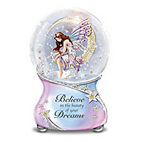 Believe In The Beauty Of Your Dreams Glitter Globe
