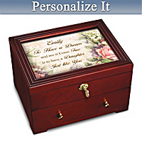 My Daughter, To Have A Dream Personalized Jewelry Box