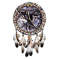 Mystic Call Dreamcatcher Wall Clock