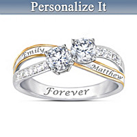 Together In Love Personalized Ring