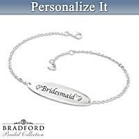 ID Style Personalized Diamond Bracelet