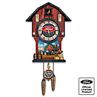 Ford Tractor Cuckoo Clock
