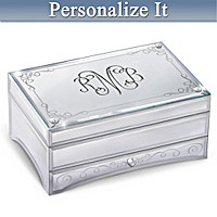 My Daughter, I Love You Always Personalized Jewelry Box