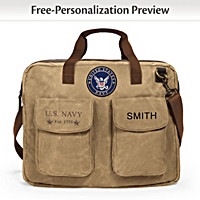 U.S. Navy Personalized Tote Bag
