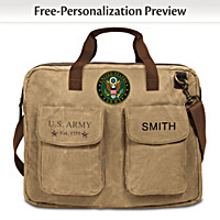 U.S. Army Personalized Tote Bag