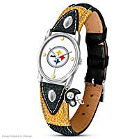 Timeless Pride Pittsburgh Steelers Women's Watch