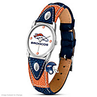 Timeless Pride Denver Broncos Women's Watch