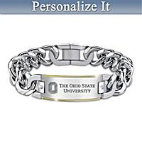 The Ohio State University Diamond Personalized Bracelet