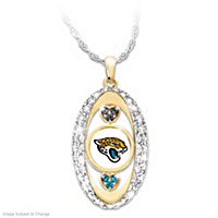 For The Love Of The Game Jaguars Pendant Necklace