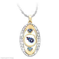 For The Love Of The Game Tennessee Titans Pendant Necklace