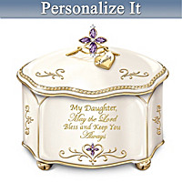 Daughter, May The Lord Bless You Personalized Music Box