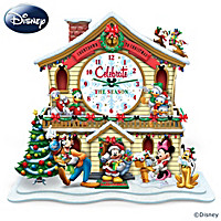 Disney Countdown To Christmas Clock