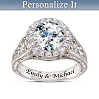I Love You More Personalized Ring