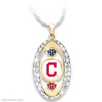Indians Pride! Pendant Necklace