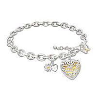 Love Blossoms For My Daughter Bracelet