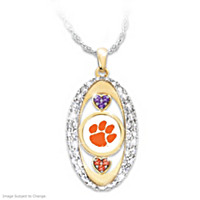 Clemson Tigers Pride! Pendant Necklace