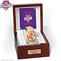 2016 National Champions Clemson Tigers Men's Watch