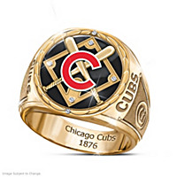 Chicago Cubs 2016 Commemorative Diamond Ring
