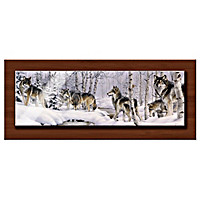 Winter Patrol Metal Print Wall Decor