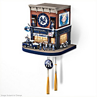 New York Yankees Fan Celebration Cuckoo Clock