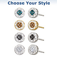 All That Glamour Diamond Earrings