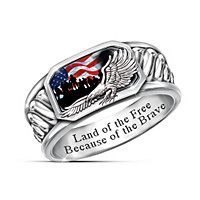 Freedom Isn't Free Ring