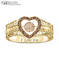Love Bubbles Over Diamond Ring
