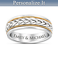 Strength Of Love Personalized Ring