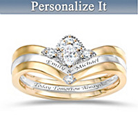 Love Is Beautiful Personalized Ring