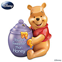 Disney Winnie The Pooh You're Sweeter Than Honey Music Box